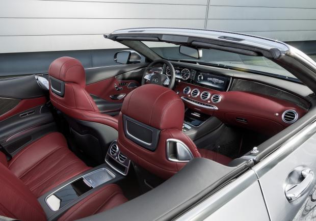 Mercedes S 63 AMG Cabrio 130 Edition interni 2