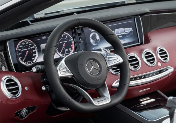 Mercedes S 63 AMG Cabrio 130 Edition interni