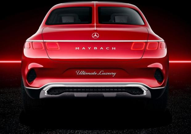 Mercedes Vision Maybach Ultimate Luxury Concept coda