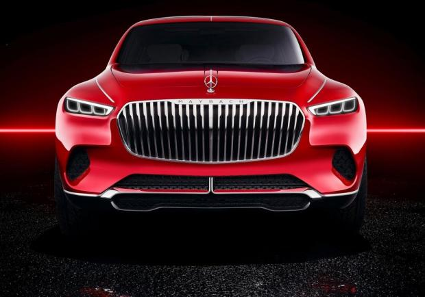 Mercedes Vision Maybach Ultimate Luxury Concept frontale