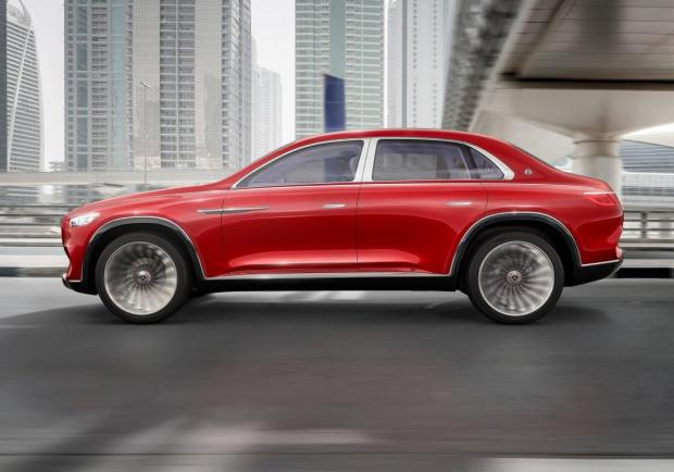 Mercedes Vision Maybach Ultimate Luxury Concept profilo