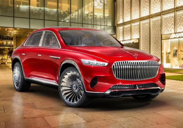 Mercedes Vision Maybach Ultimate Luxury Concept