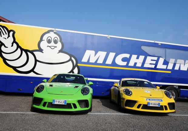 Michelin Track Connect, la gomma parlante 01