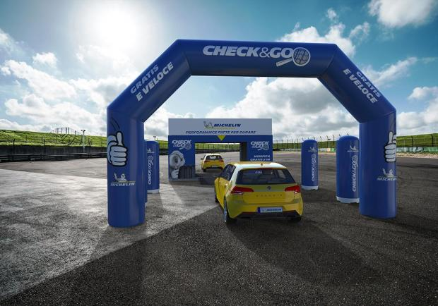 Michelin, al via il tour italiano 'Check e Go' 01