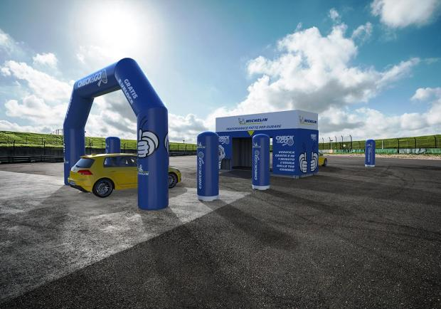 Michelin, al via il tour italiano 'Check e Go' 02