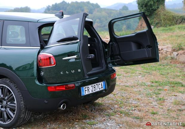 Mini Clubman Cooper D La Prova Su Strada Della Mini Station Wagon