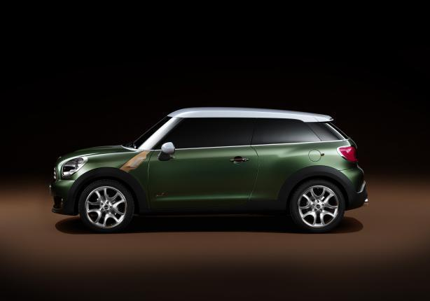 Mini Countryman Coupé laterale