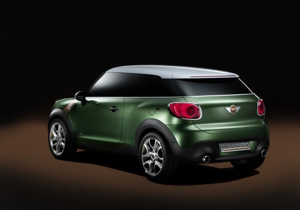 Mini Countryman Coupé posteriore