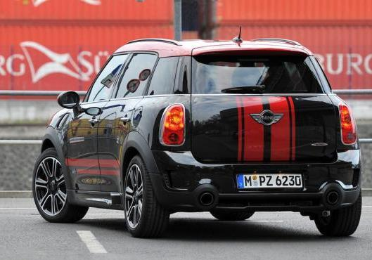 Mini Countryman John Cooper Works posteriore