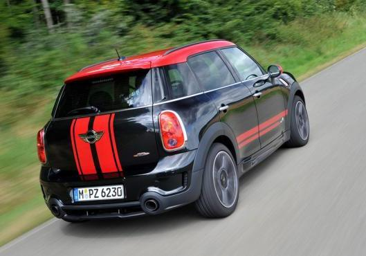 Mini Countryman John Cooper Works tre quarti posteriore