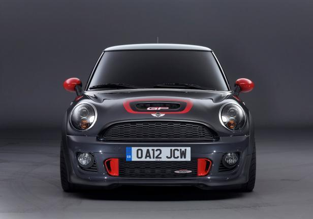 Mini John Cooper Works GP anteriore
