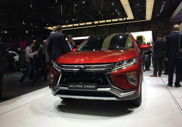 Mitsubishi Eclipse Cross al Salone di Ginevra 2017