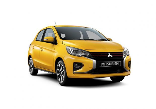 Mitsubishi, restyling per la Space Star/Mirage e la Attrage 01