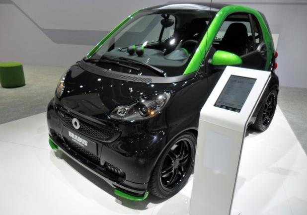 Motor Show 2012 Smart Brabus Electric Drive
