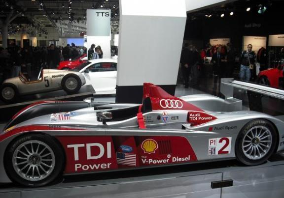 Motor Show stand Audi