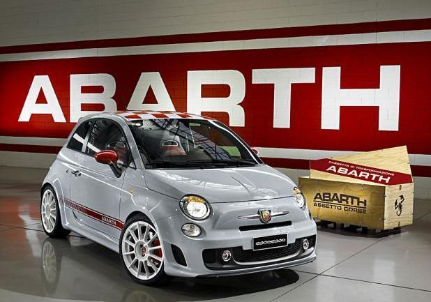 "My Special Car Show 2013 Abarth 500 ""esseesse"" tre quarti anteriore"