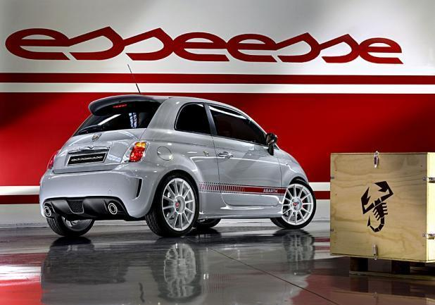 "My Special Car Show 2013 Abarth 500 ""esseesse"" tre quarti posteriore"