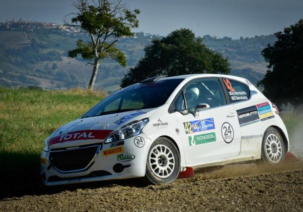 Nerobutto Peugeot Competition Top 208 Rally Adriatico 2018