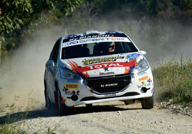 Nicelli Peugeot Competition Top 208 Rally Adriatico 2018