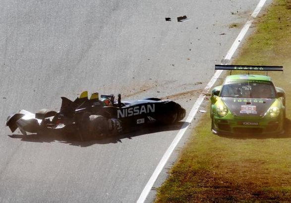 Nissan DeltaWing incidente