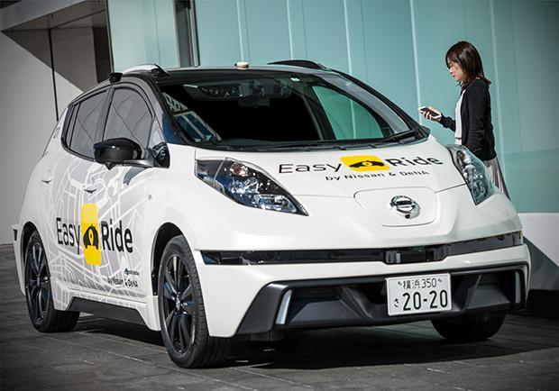 Nissan Easy Ride, in arrivo l'auto robot 04