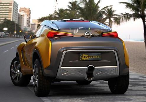 Nissan Extrem posteriore