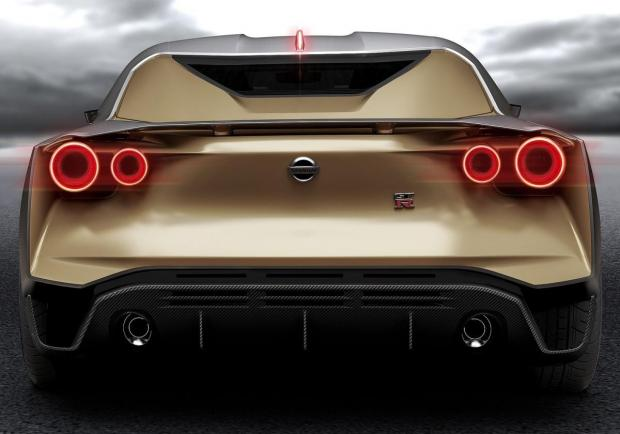 Nissan GT-R50 by Italdesign coda