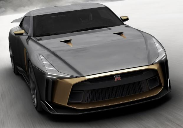 Nissan GT-R50 by Italdesign vista alto