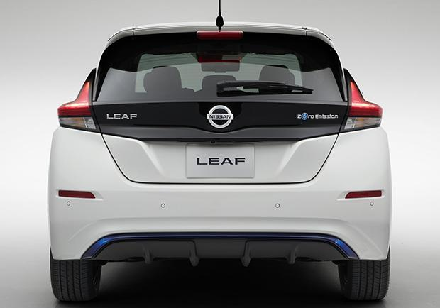 Nissan Leaf 2018 posteriore