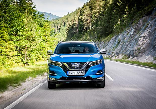 Nissan Qashqai restyling 2017 anteriore