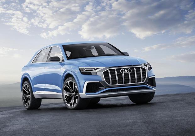 Novità Audi Q8 concept Detroit 2017
