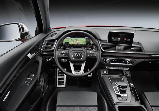 Novità Audi SQ5 TFSI Detroit 2017 interni