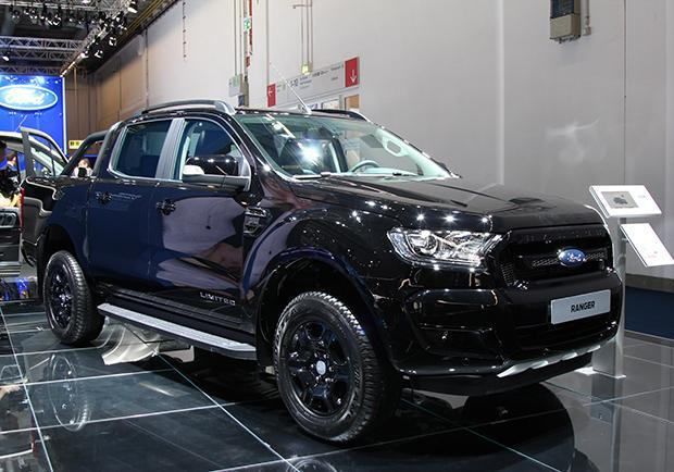 Novità Ford Ranger Black Edition al Salone di Francoforte 2017