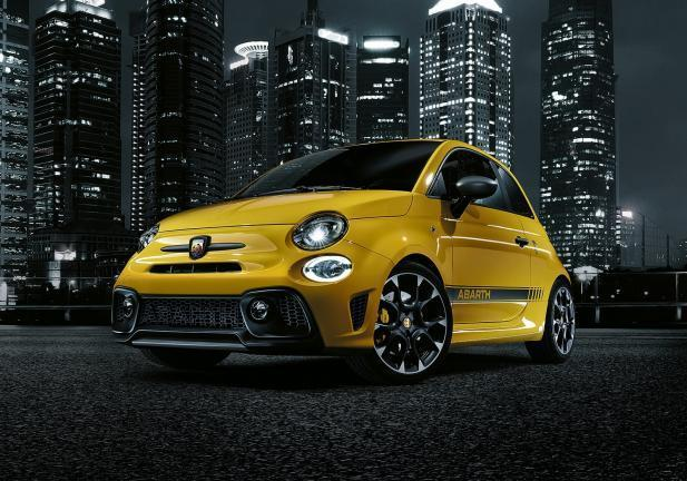 Nuova 595 Abarth frontale