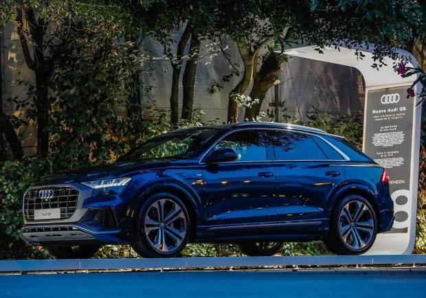 Nuova Audi Q8, un'estate in tour per l'Italia 01