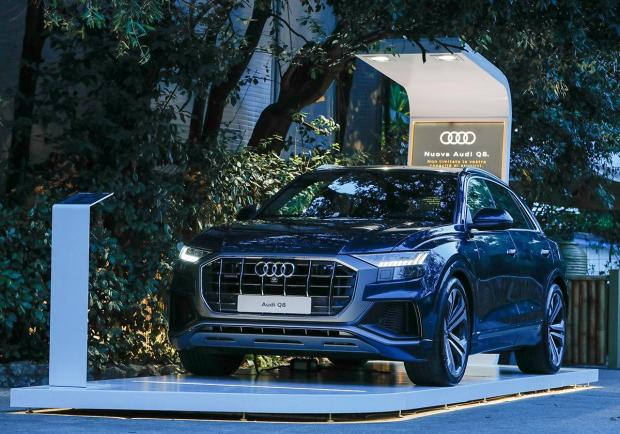 Nuova Audi Q8, un'estate in tour per l'Italia 04