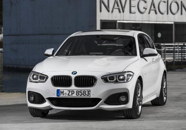 Nuova BMW Serie 1 restyling 2015 M Sport anteriore