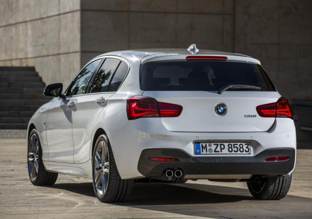 Nuova BMW Serie 1 restyling 2015 M Sport posteriore
