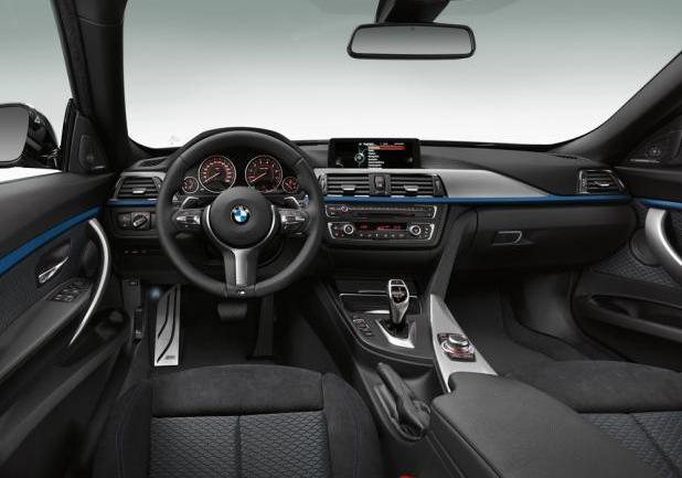 foto nuova bmw serie 3 gran turismo interni con pacchetto m sport. Black Bedroom Furniture Sets. Home Design Ideas