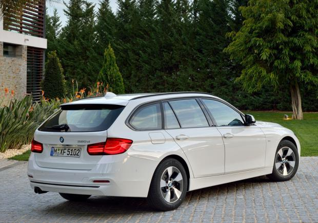 Nuova BMW Serie 3 Touring restyling 2015