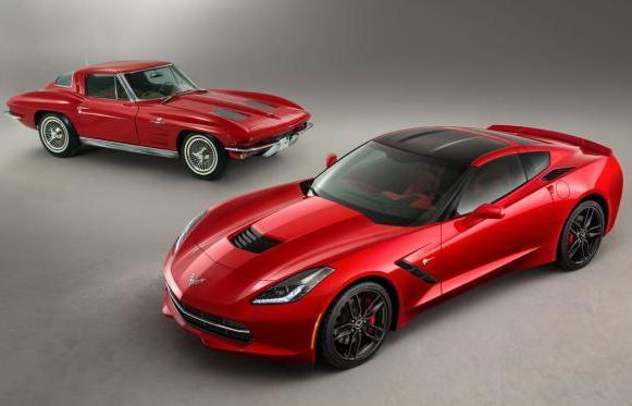 Nuova Chevrolet Corvette Stingray 2014 e Corvette Stin Ray 1963