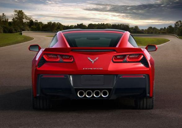 Nuova Chevrolet Corvette Stingray 2014 posteriore