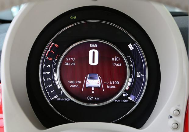 Nuova Fiat 500 display TFT