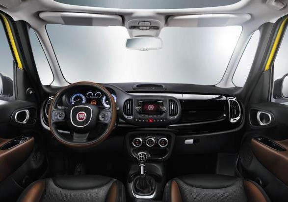 Foto Nuova Fiat 500L Trekking interni