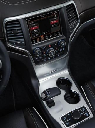Nuova Jeep Grand Cherokee my 2014 consolle centrale