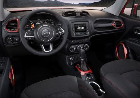 Nuova Jeep Renegade Trailhawk interni
