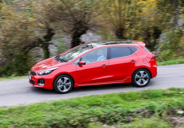 Nuova Kia Ceed in movimento