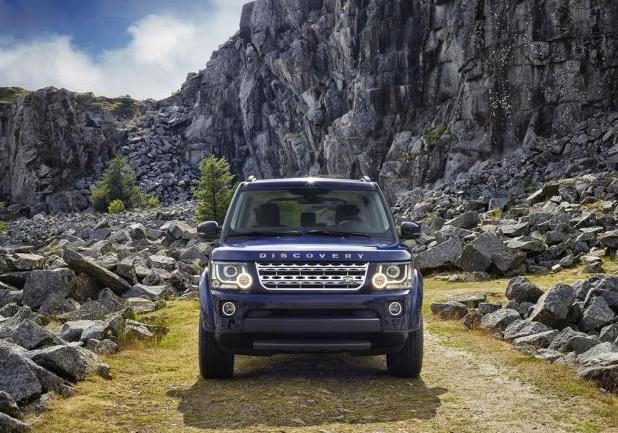 Nuova Land Rover Discovery my 2014 anteriore