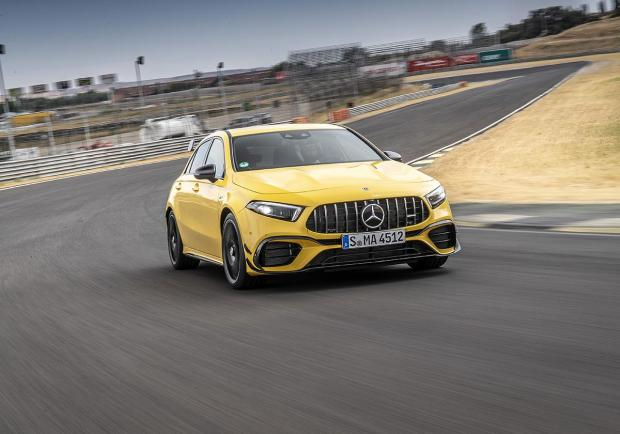 Nuova Mercedes A 45 AMG S 2019