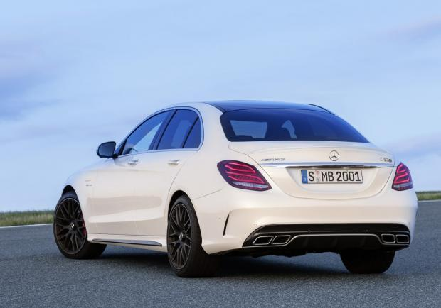Nuove Mercedes C63 AMG e C450 AMG 4Matic
